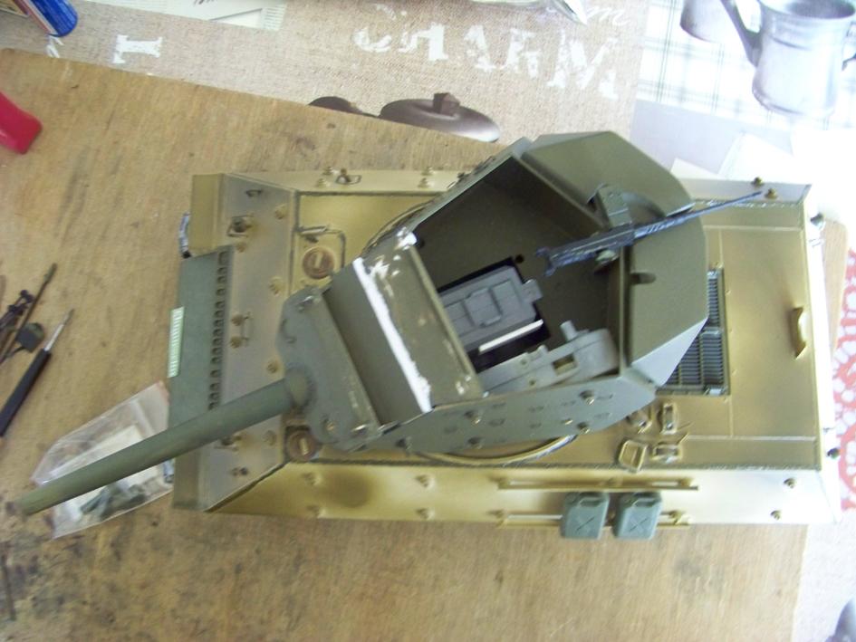 3-inch Gun Motor Carriage M 10 Tank Destroyer 124-3e98053