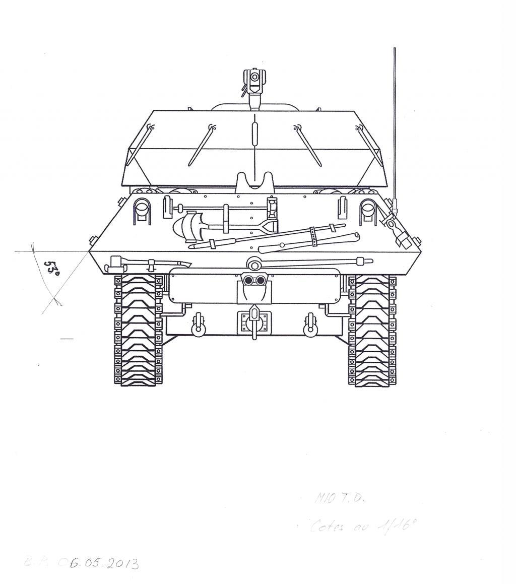 3-inch Gun Motor Carriage M 10 Tank Destroyer M10-t.d.-dd-3dfde2f