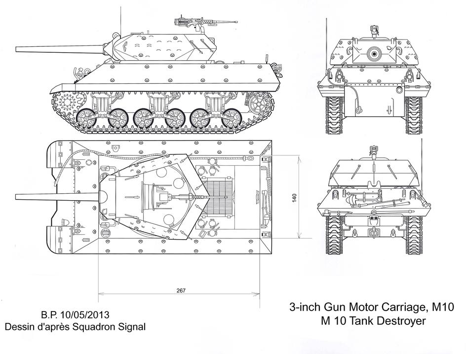 3-inch Gun Motor Carriage M 10 Tank Destroyer M10-t.d-a-3e0fecb