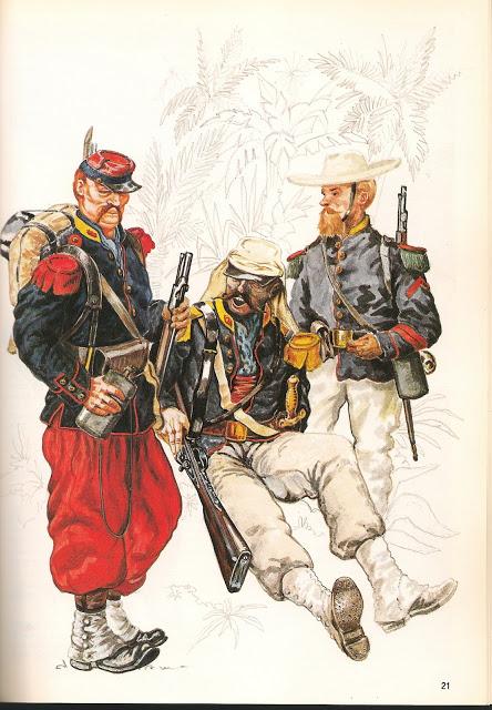 """l heure de la legende """"Legio Patria Nostra Mexique 1863 """" 22-41e6157"""