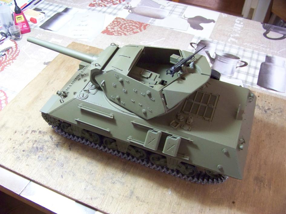 3-inch Gun Motor Carriage M 10 Tank Destroyer 1-3e9e526