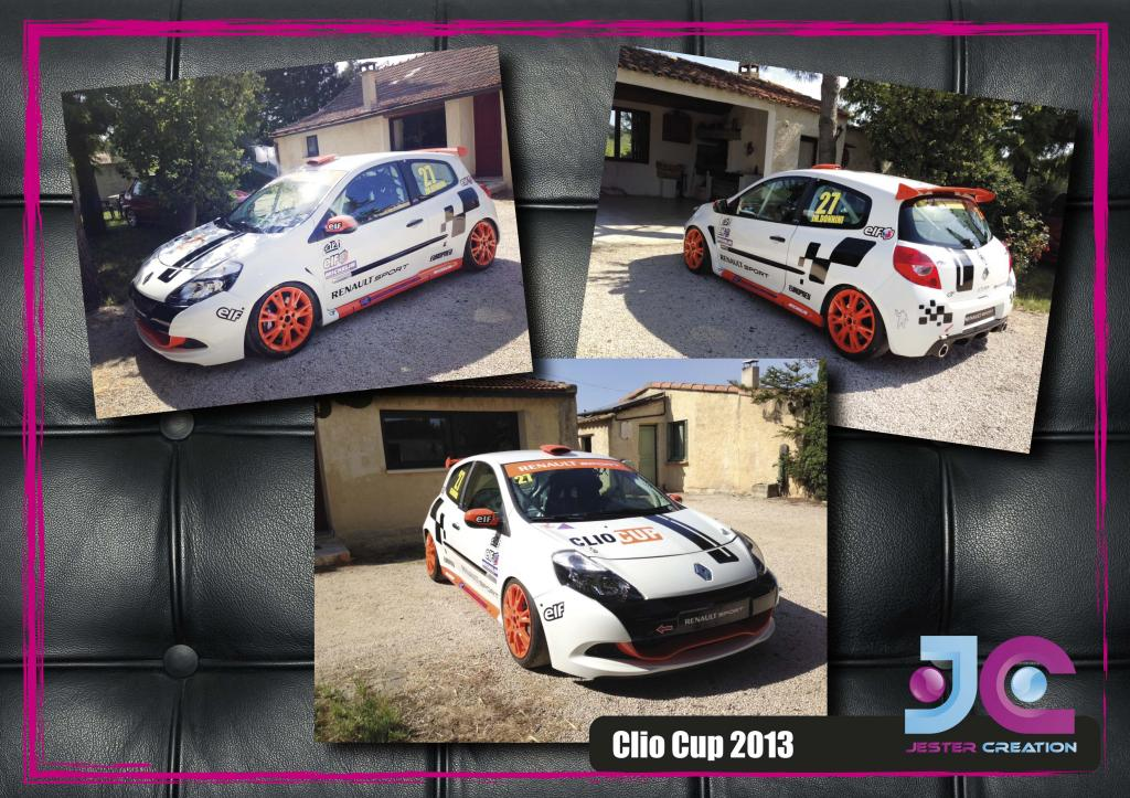 Vends Sticker Renault Replica - Stripping - et autres modeles  - Page 2 Clio-cup-2013-3f79f1d
