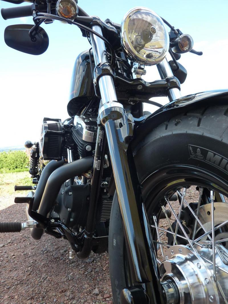 Harley Davidson Sporster 1200 Forty Eight avec quelques modifs ... P1030581-3f1e64a