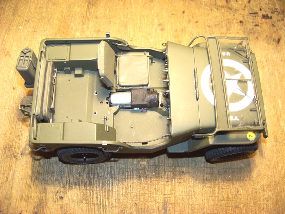 Jeep Danbury 1/16e, motorisée Sumo + remorque Bantam 1/4 t 100_2808-42c484c