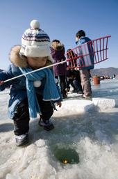 مهرجان جبل تيبيك للجليد Jan05