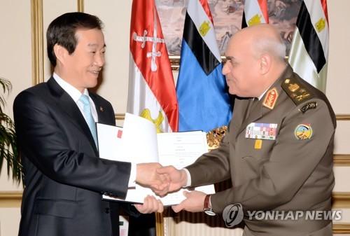 مصر قد تشتري مدافع K9 الذاتيه الحركه عيار 155 ملم من كوريا الجنوبيه  AAR20170329001400885_01_i
