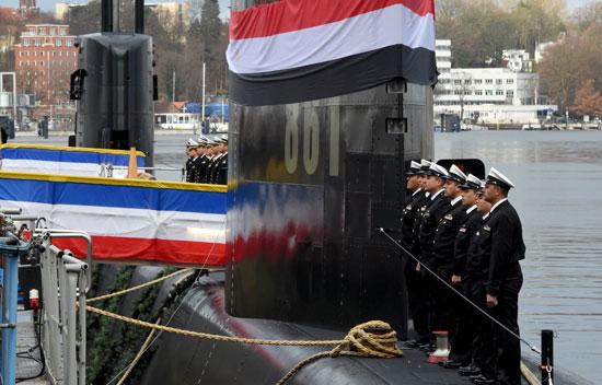 غداً ... رفع العلم المصري علي الغواصة Type 209/1400  وإعلان انضمامها للقوات البحرية المصرية  57914-%D8%A7%D9%84%D8%BA%D9%88%D8%A7%D8%B5%D9%87-%D8%A7%D9%84%D8%A7%D9%84%D9%85%D8%A7%D9%86%D9%8A%D8%A9-%281%29