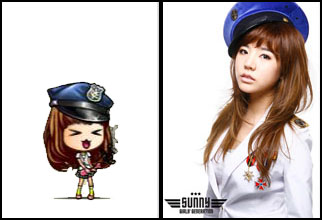 GIRLS' GENERATION- The power of 9! - Page 2 Sunny1