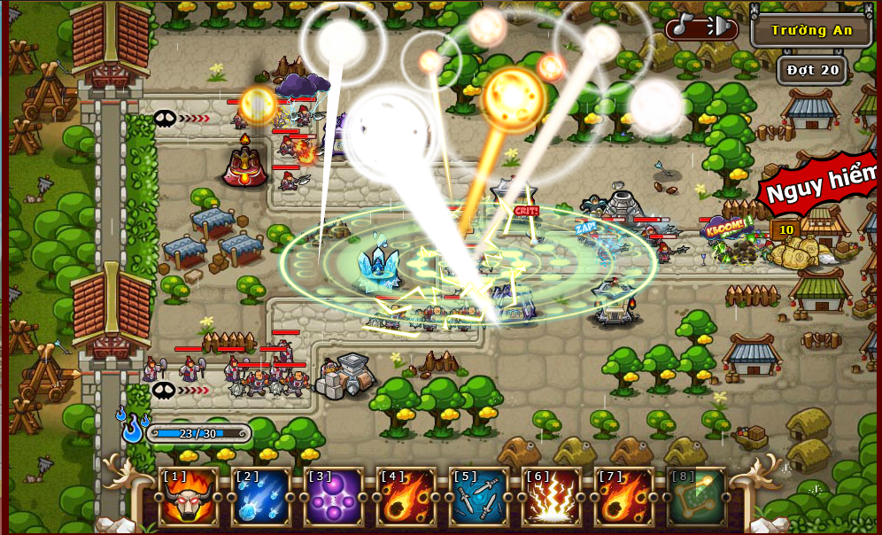 Tower Defense Private - game thủ tháp - mở máy chủ mới - miễn phí 6 Vạn Vàng Gioithieu3