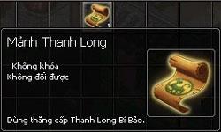 [Thảo Luận] Tài Nguyên Mới Kiếm Thế - Thanh Long Bảo Hạp ManhThanhLong