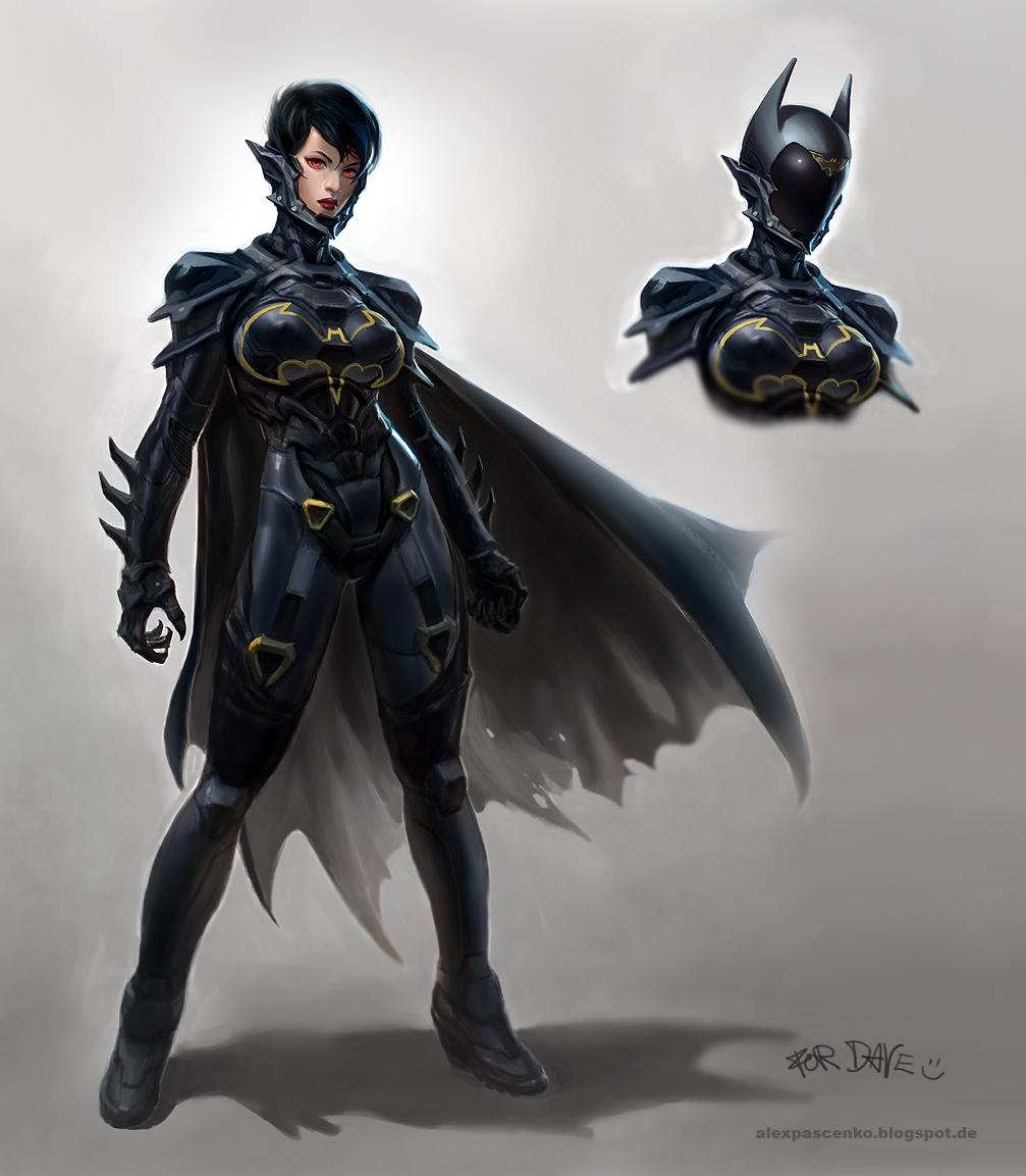 Penny Danvolt Art-Sci-Fi-future-Batgirl-755025