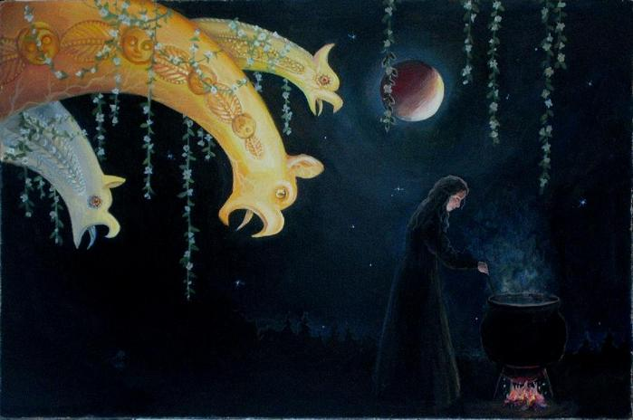 Картины на тему магии 3336893_27_koldovstvo
