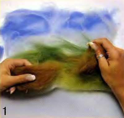 Мягкие картины своими руками. Валяние 23932836_hud1