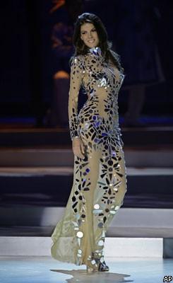 «Мисс Вселенная-2008»: американка опять упала, россиянка — в 29030108_1216152710_1216015188_0030_245x400