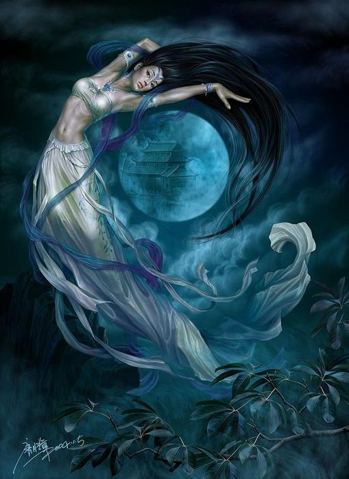 гадалка -  Стихия Воздух. Стихийная магия. Обряды. Ритуалы. Путь Ведьмы Воздуха 44856624_5