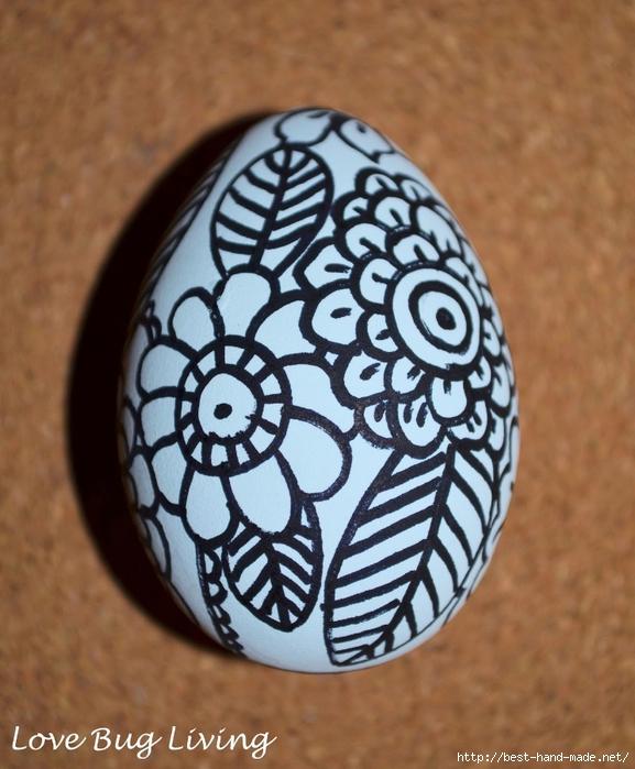 flower doodle egg (577x700, 287Kb)