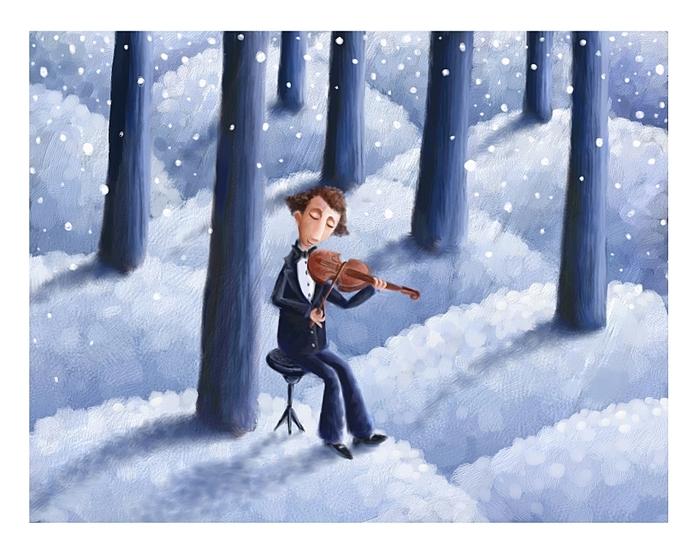 Música y pintura 37693961_Silent_Audience_by_pesare