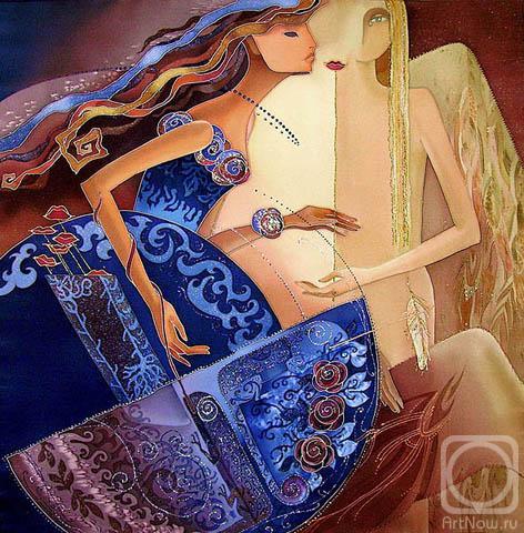 Искусство росписи по шелку (для начинающих)  50023357_31040444_vuyhod_v_svet_maska