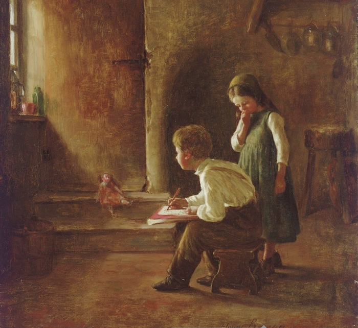 Henry Bacon 1839-1912 58686181_Henry_Bacon_18391912_A_Young_Artist__1879