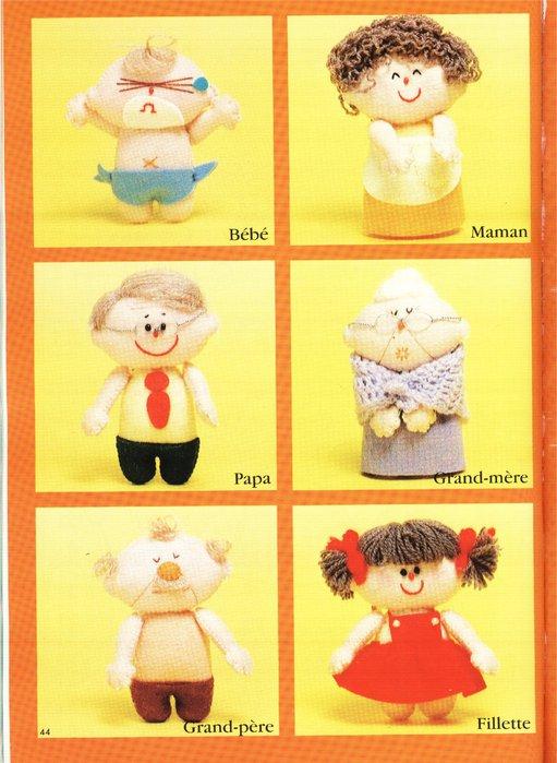 Крошечные куколки. Книга с выкройками 62122837_51