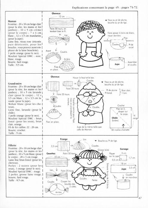 Крошечные куколки. Книга с выкройками 62123125_54
