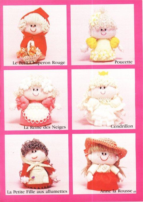 Крошечные куколки. Книга с выкройками 62123449_56