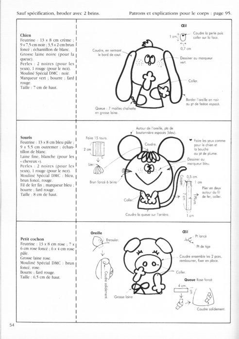 Крошечные куколки. Книга с выкройками 62124045_61