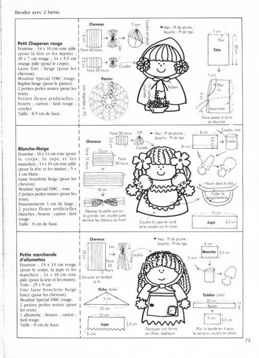 Крошечные куколки. Книга с выкройками 62126066_80