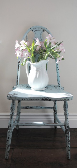 Голубой,бирюзовый,синий в декоре 63012680_bluechair