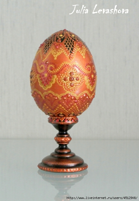 Идеи Декора яиц к Пасхе 111375648_12