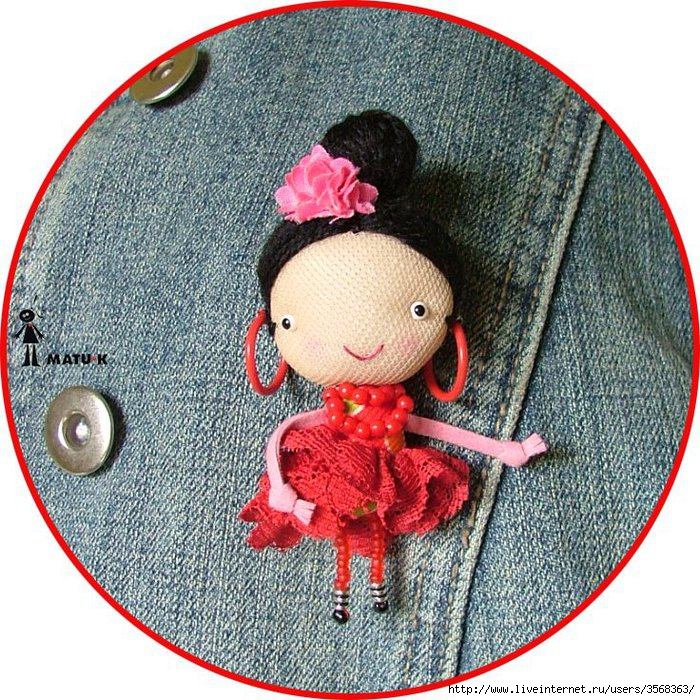 Куклята-броши 71482240_tuki_flamenquita