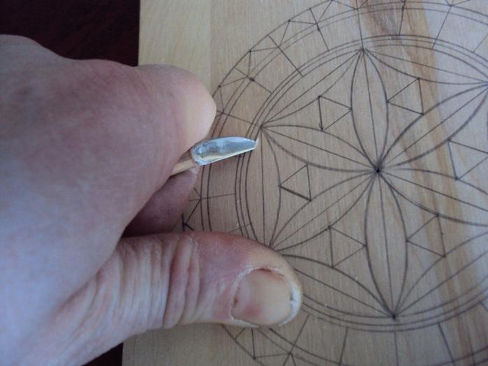 Геометрическая резьба по дереву для начинающих. Мастер-класс 75883616_DSC03532