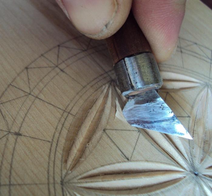 Геометрическая резьба по дереву для начинающих. Мастер-класс 75883620_DSC03543