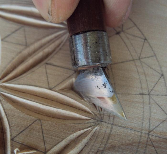Геометрическая резьба по дереву для начинающих. Мастер-класс 75883622_DSC03545