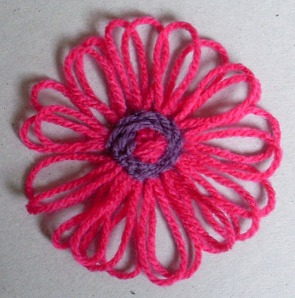 Цветы на ЛУМЕ (базовая техника) 76609502_flower_loom1201