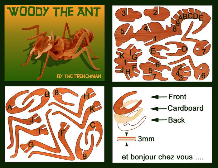 Выпиливаем и собираем муравья. 77677020_AntDoc