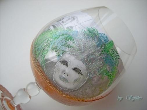 Очень интересная работа с применением яичного кракле и точечной росписи - МК 77787464_3286035_024