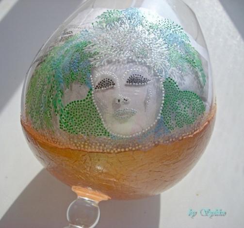 Очень интересная работа с применением яичного кракле и точечной росписи - МК 77787466_3286035_026