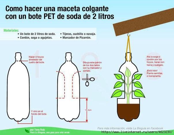 Поделки для дачи своими руками из шин и пластиковых бутылок - Страница 3 93935612_large_xW