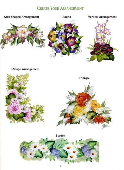 Floral Bouquets.  Цветочные букеты. 79362558_one_str__2_