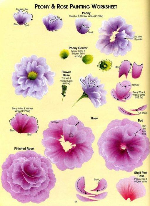 Floral Bouquets.  Цветочные букеты. 79362576_one_str__11_