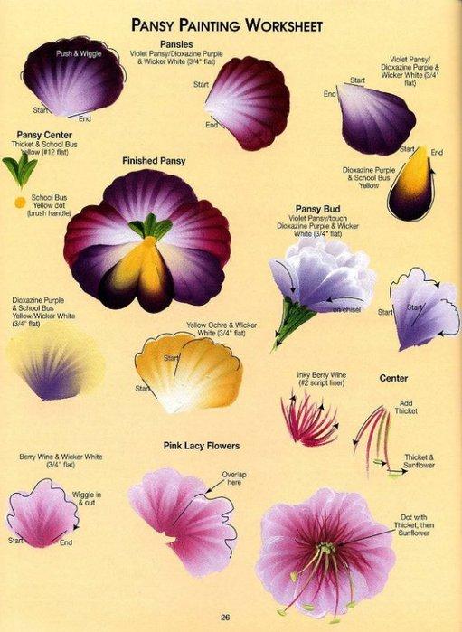 Floral Bouquets.  Цветочные букеты. 79362600_one_str__23_