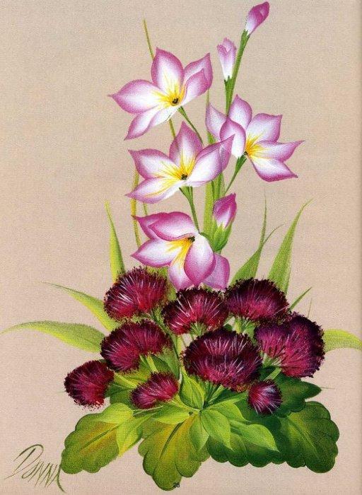 Floral Bouquets.  Цветочные букеты. 79362602_one_str__25_