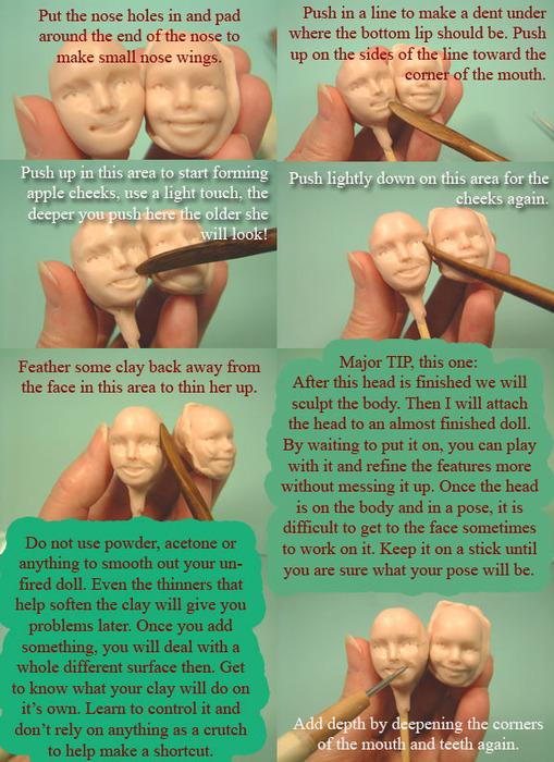 Процесс лепки куклы из полимерной глины. 82735322_trixie4