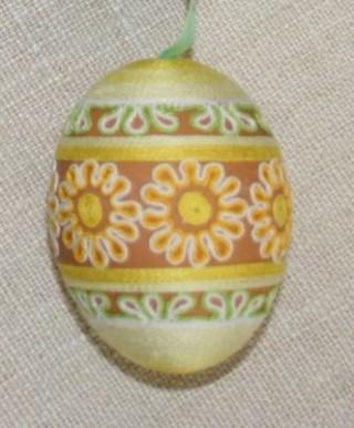 Пасхальные яйца из ткани, лент, джута.... 84857402_adamicova_bozena_16