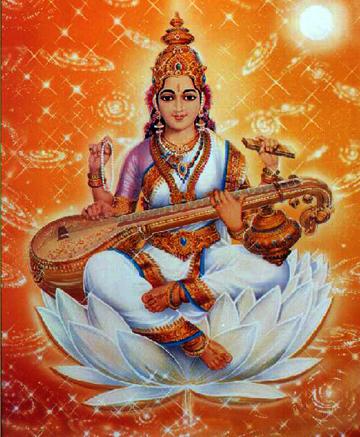 Лунные Богини и Боги 95222974_4711681_Sarasvati_Indiya