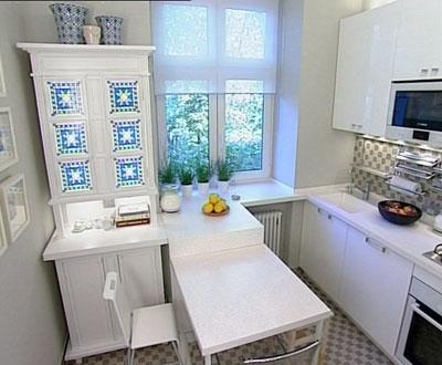 Маленькая кухня - не наказание!:) 96656252_tiny_kitchen_06