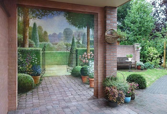 Роспись стен. Роспись-обманка от бельгийского художника VAN HOEF 97653278_rospis_stenuyobmanka__18_