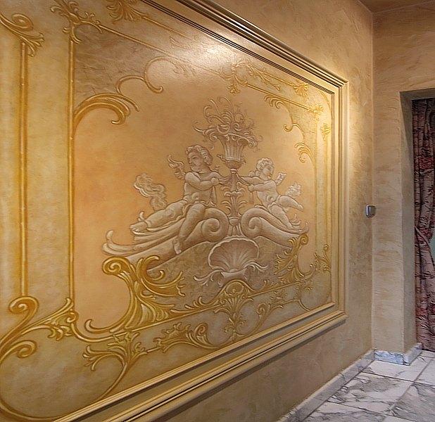 Роспись стен. Роспись-обманка от бельгийского художника VAN HOEF 97653704_10
