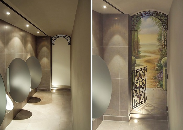 Роспись стен. Роспись-обманка от бельгийского художника VAN HOEF 97653712_20